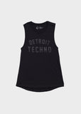 Detroit Techno Muscle Tank, Tank Top, Movement - DETROIT HUSTLES HARDER®