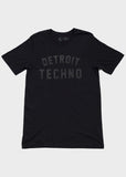 Detroit Techno Short Sleeve T-Shirt, T-SHIRT, Movement - DETROIT HUSTLES HARDER®