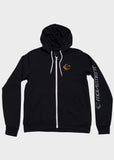 Orbit Fleece Zip Hoodie, Sweatshirt, Movement - DETROIT HUSTLES HARDER®