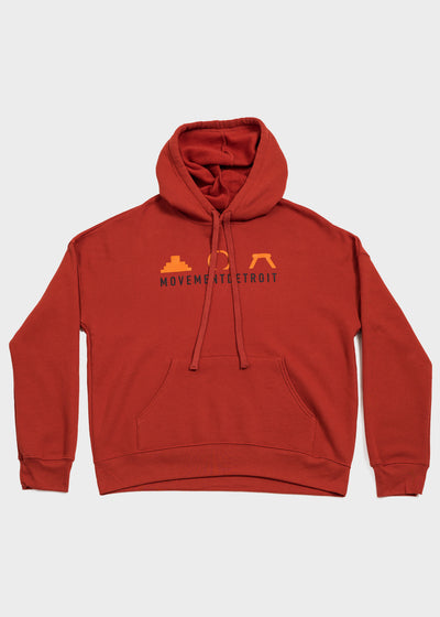 Hart Plaza Icons Pullover Hoodie, Sweatshirt, Movement - DETROIT HUSTLES HARDER®