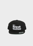 Listen to Detroit Techno Snapback, Headwear, Movement - DETROIT HUSTLES HARDER®