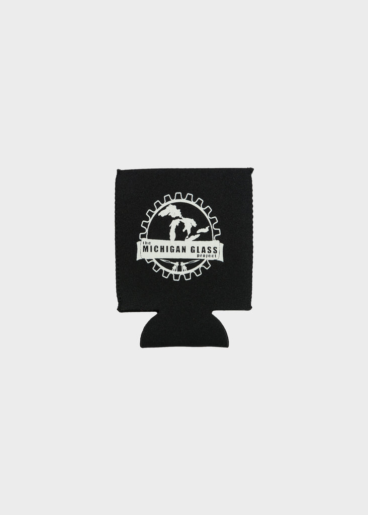 Logo Koozie, Koozie, The Michigan Glass Project - DETROIT HUSTLES HARDER®