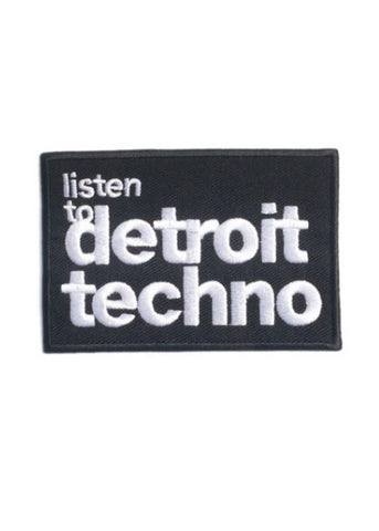 Listen to Detroit Techno Short Sleeve Cropped T-Shirt