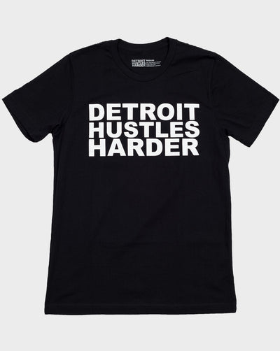 Short Sleeve Classic Logo Tee, T-SHIRT, DETROIT HUSTLES HARDER® - DETROIT HUSTLES HARDER®