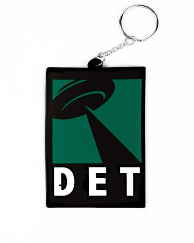 DET UFO Rubber Keychain, Keychain, Movement - DETROIT HUSTLES HARDER®