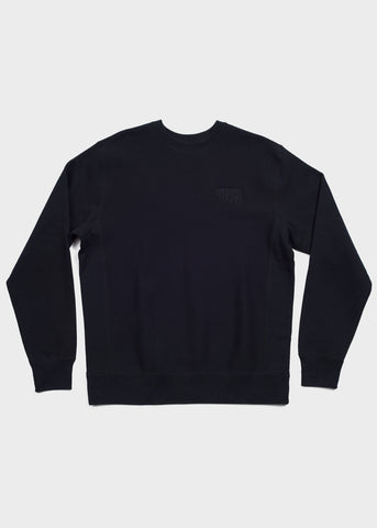 Box Logo Drop Shoulder Fleece Pullover Hoodie