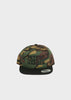6-Panel Snapback Camo / Black Bill, Headwear, DETROIT HUSTLES HARDER® - DETROIT HUSTLES HARDER®