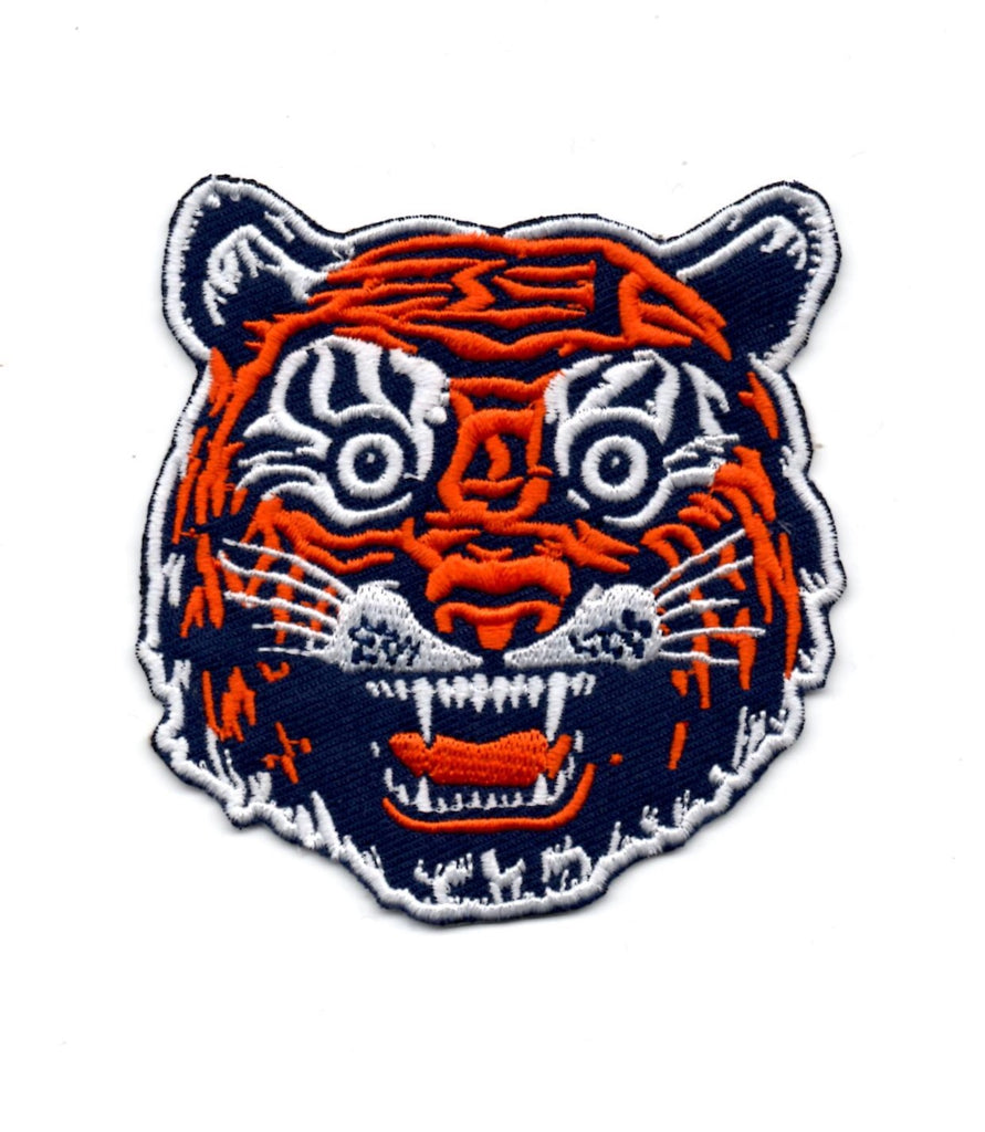 "12"" X 12"" Sew / Iron-On Patches Tiger Face Design, Patch, DETROIT HUSTLES HARDER® - DETROIT HUSTLES HARDER®"