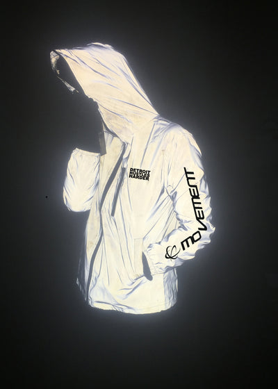 Movement x DHH Reflective Jacket, Jacket, Movement - DETROIT HUSTLES HARDER®