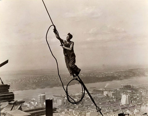 Rope Access Technician Empire State Building 1930
