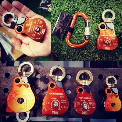 ROCK EXOTICA Omni Block Swivel Pulleys - Urban Abseiler