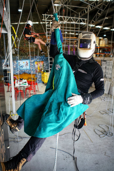 Apple-Sac Firewall Welding Apron - Urban Abseiler