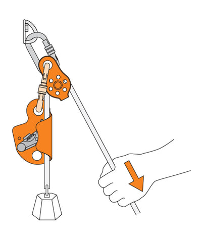 CAMP - SOLO 2 Rope Clamp - Urban Abseiler