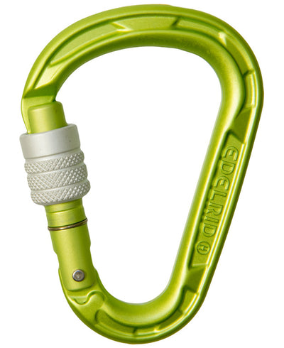 Edelrid HMS Strike Carabiner - Screw Lock - Urban Abseiler
