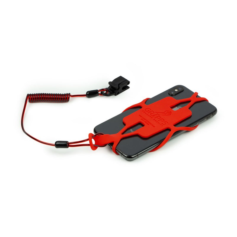 GRIPPS Tablet Gripper With Coil Tether (Non-Conductive)