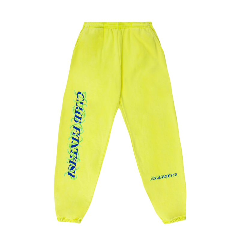 CAGED LOGO SWEATPANTS