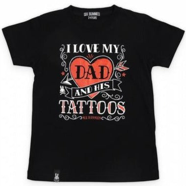 I Love My Dad and His Tattoos Shirt