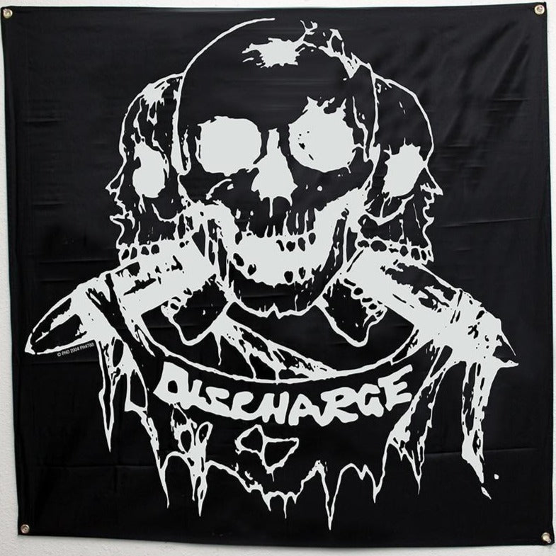Discharge Born to Die Flag