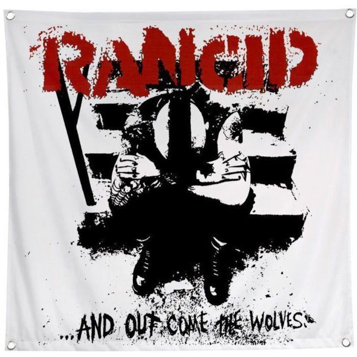 Rancid And Out Come the Wolves Flag
