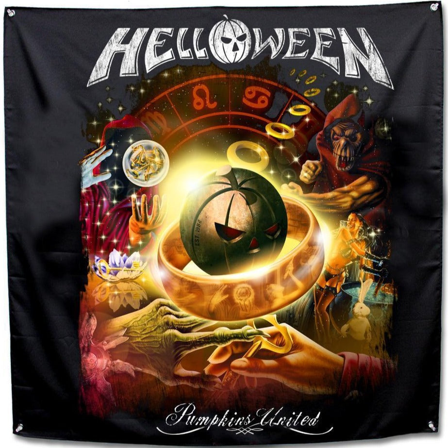 Helloween Collage Flag