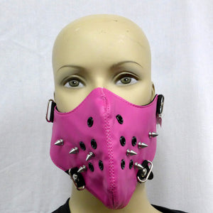Pink Mask w/spikes