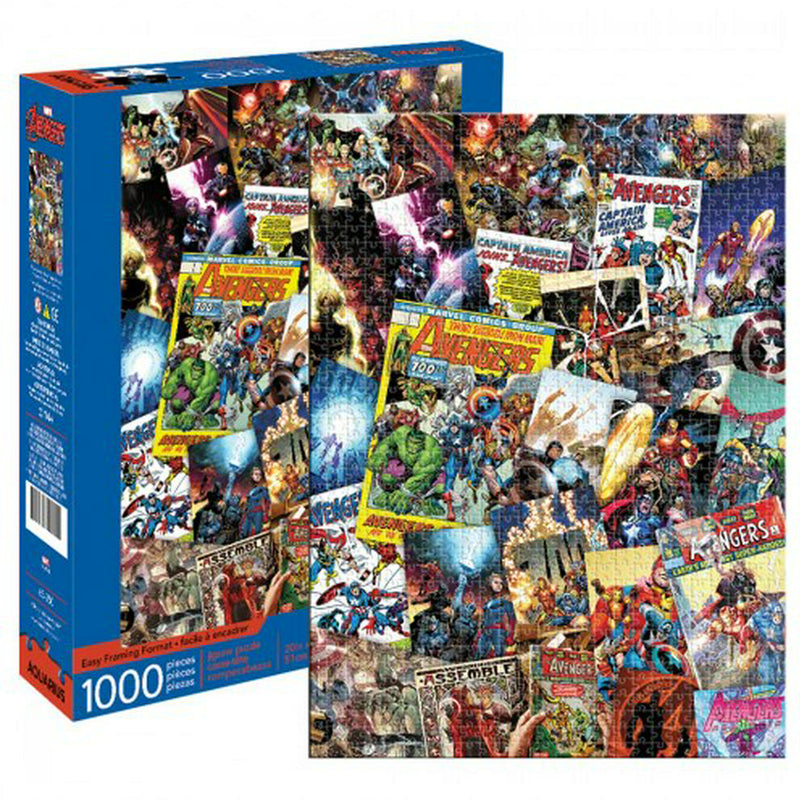 Avengers Collage Puzzle