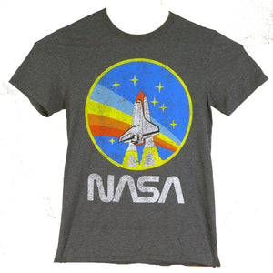 NASA Rainbow Navy Heather