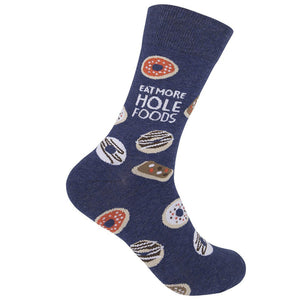 Eat More Hole Foods Socks