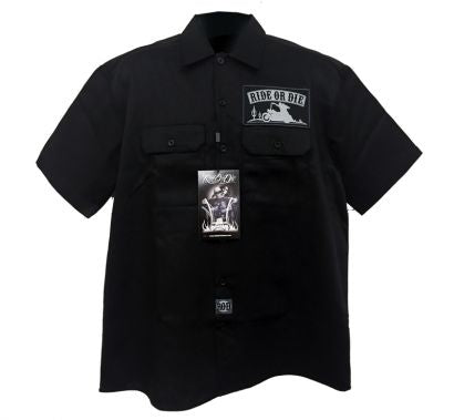 Ride or Die Freedom Work Shirt