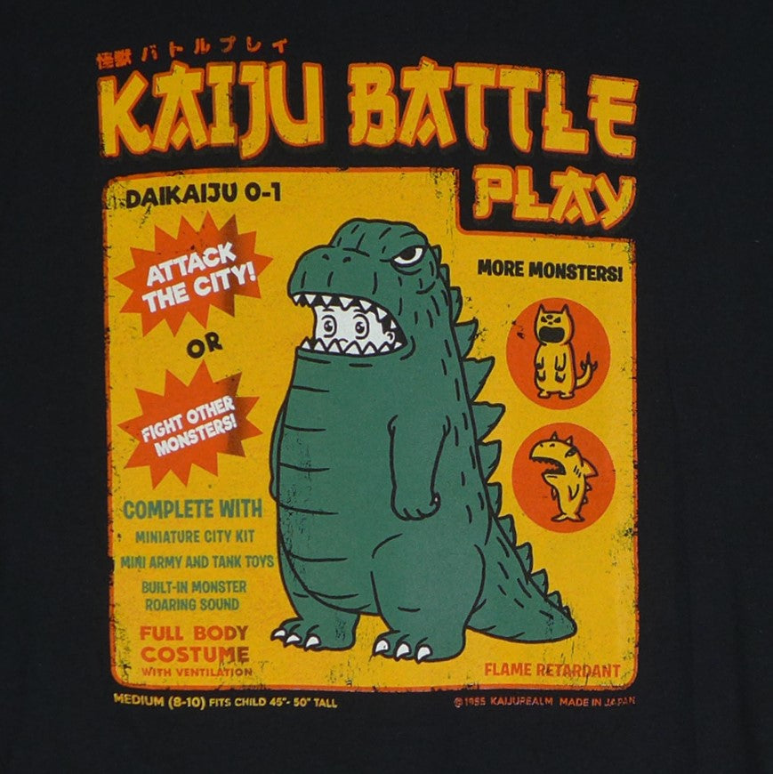 Godzilla Kaiju Battle Play-sz Large only