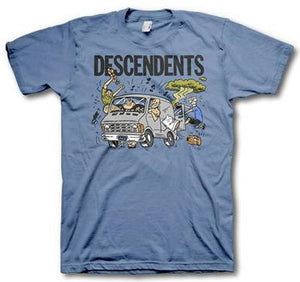 Descendents Van on Blue