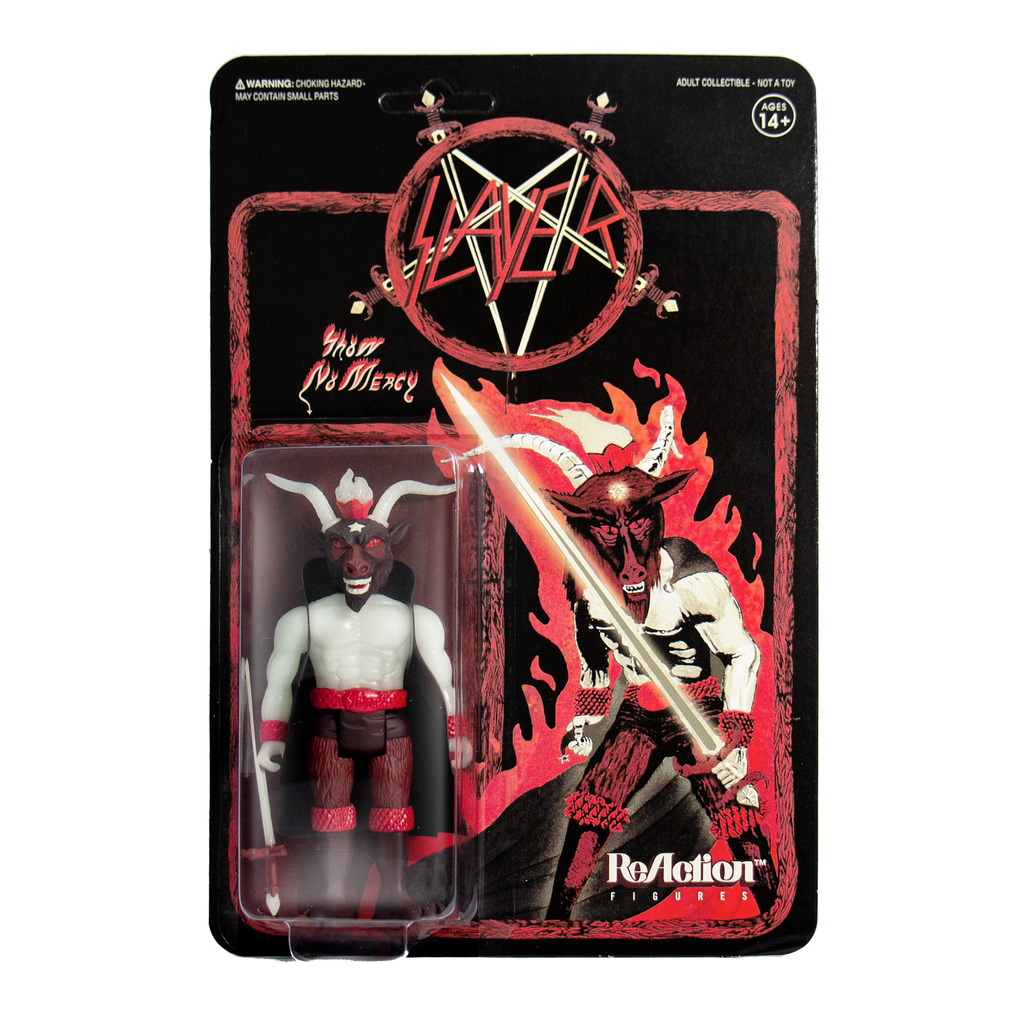 Slayer Glow Minotaur ReAction Figure