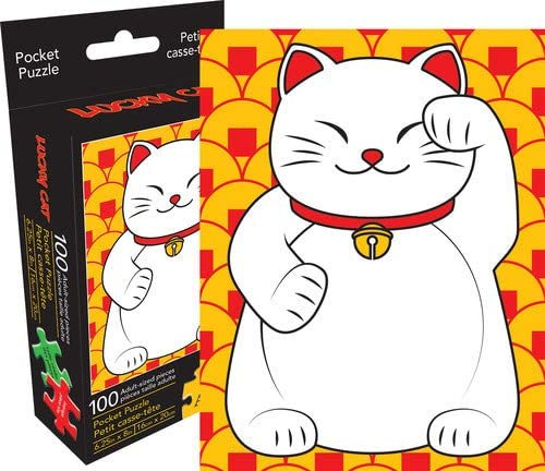 Lucky Cat Pocket Puzzle