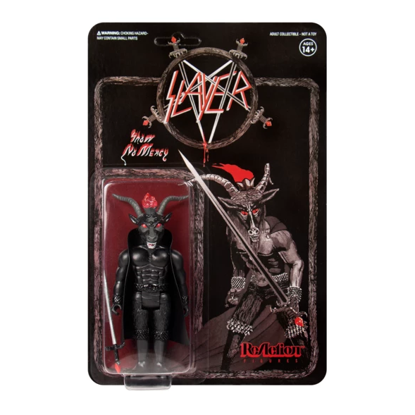 Slayer Black ReAction Figure