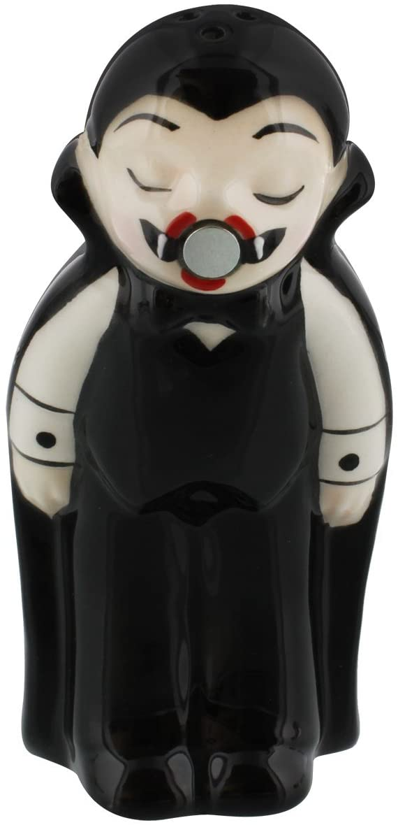 Vampire & Coffin Salt & Pepper Shaker