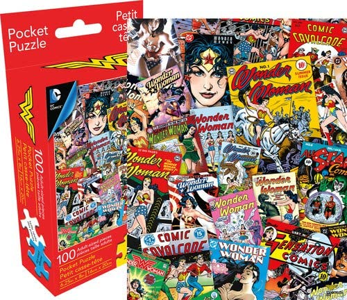 Wonder Woman Collage Pocket Puzzle