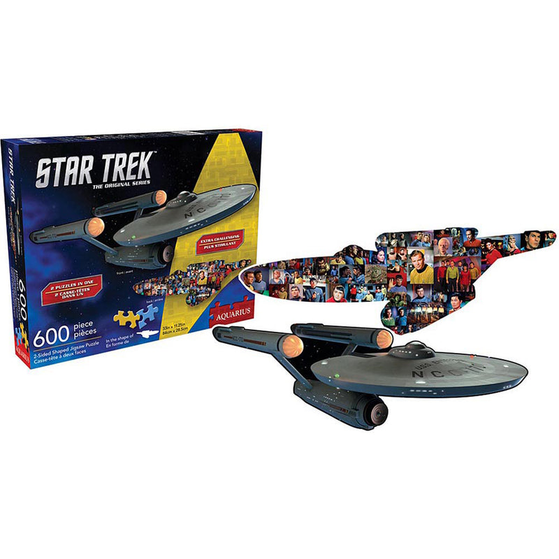 Star Trek 2 Sided Puzzle