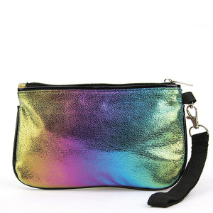 Unicorn in Rainbow Wristlet