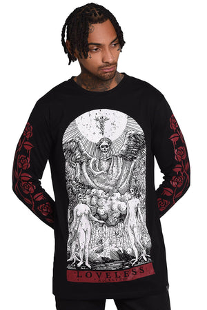 Loveless Long Sleeve Rose Arms