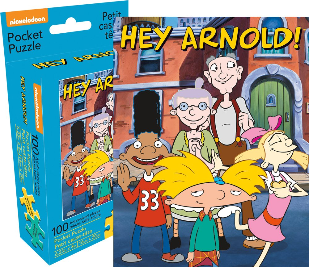 Hey Arnold Pocket Puzzle