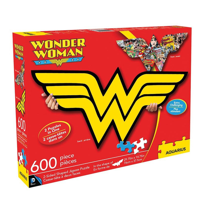 Wonder Woman Logo Collage Puzzle