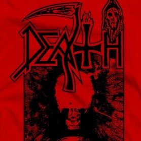 Death Individual Thought Red T-Shirt