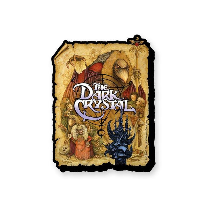 Dark Crystal One Sheet Chunky Magnet
