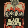 Black Sabbath Red Flames