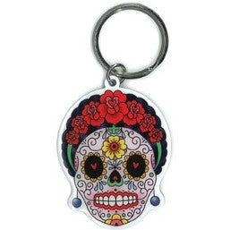 Calavera Frida Key Chain