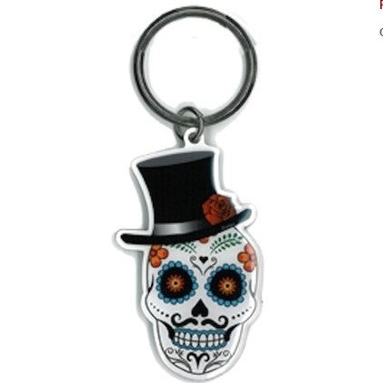 El Catrin Key Chain