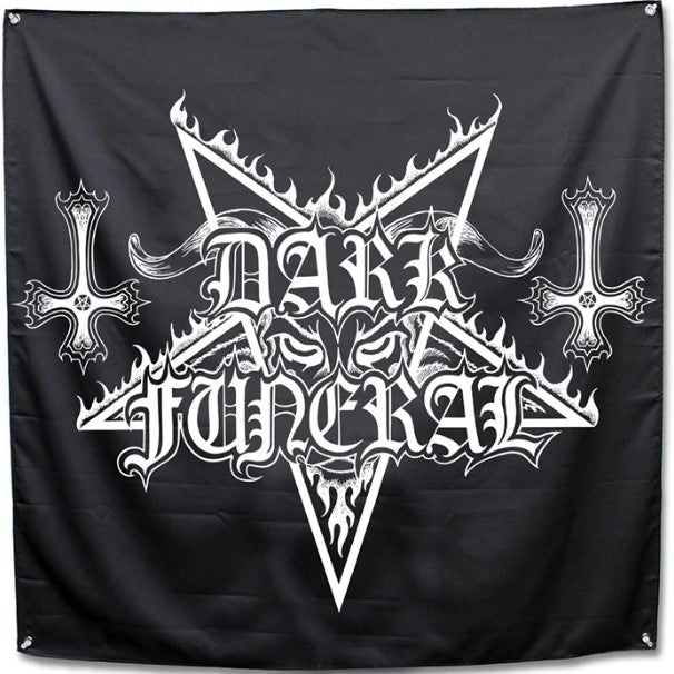 Dark Funeral Logo Flag