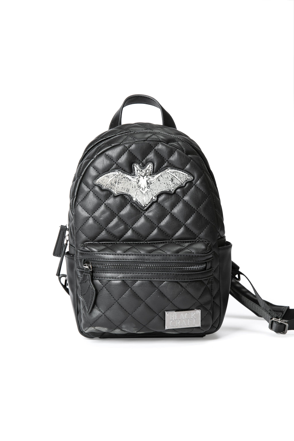 Quilted Bat Backpack