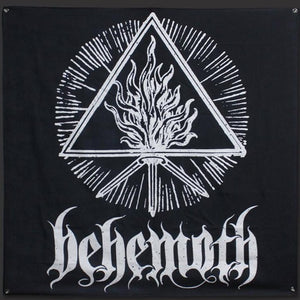 Behemoth White Sigil Flag