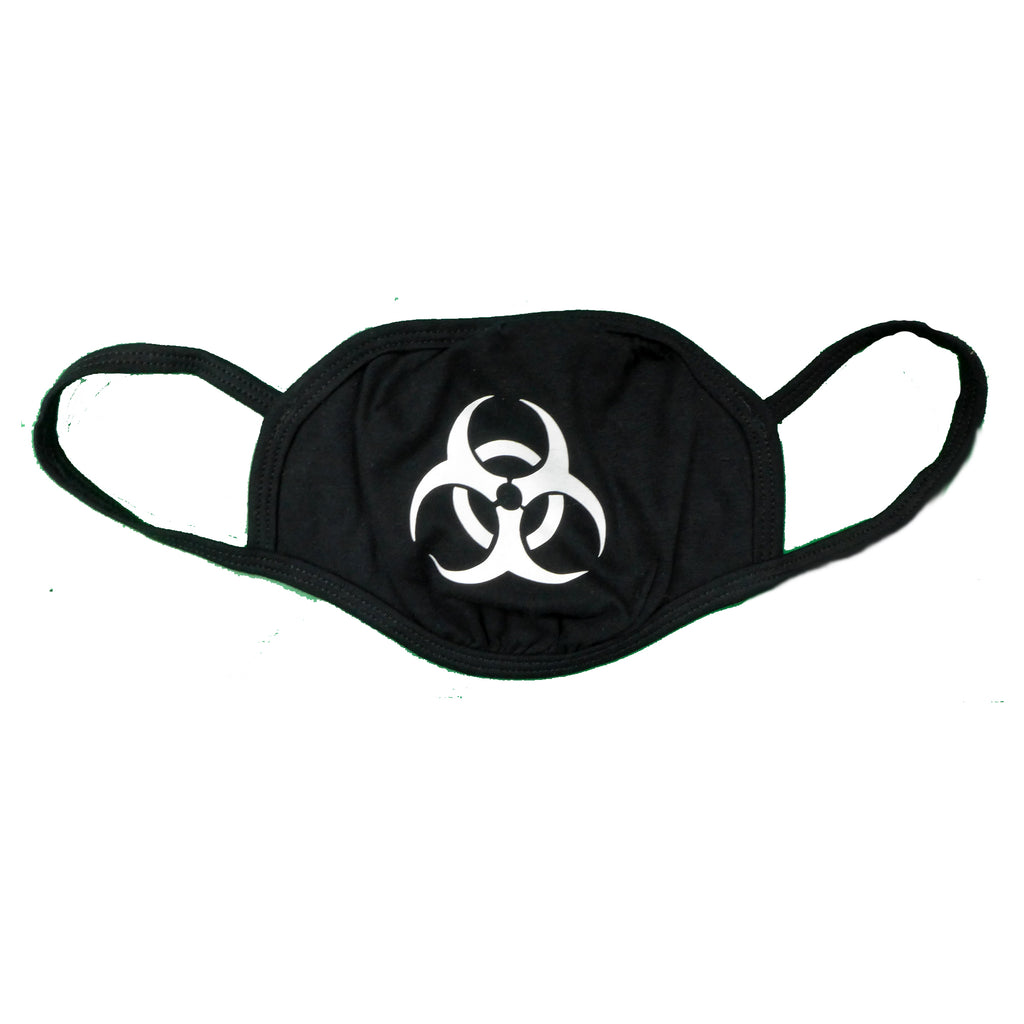 Biohazard Black Mask